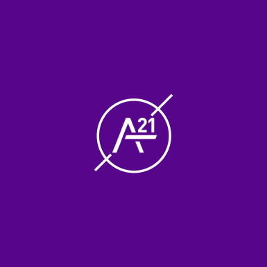 """I created this specific graphic and icon to show """"The BLØCK x NYU"""" support for the A21 Campaign. The iconic circle with a forward slash is a part of The BLØCK's iconic branding, so I incorporate it with each of the icons I have created."""