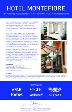 Hotel Montefiore Case Study