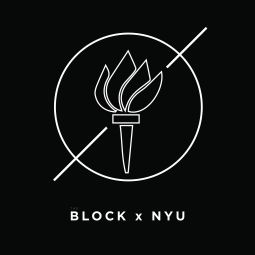 This was another possible logo design, but it was scrapped because the torch is legally bind to NYU.